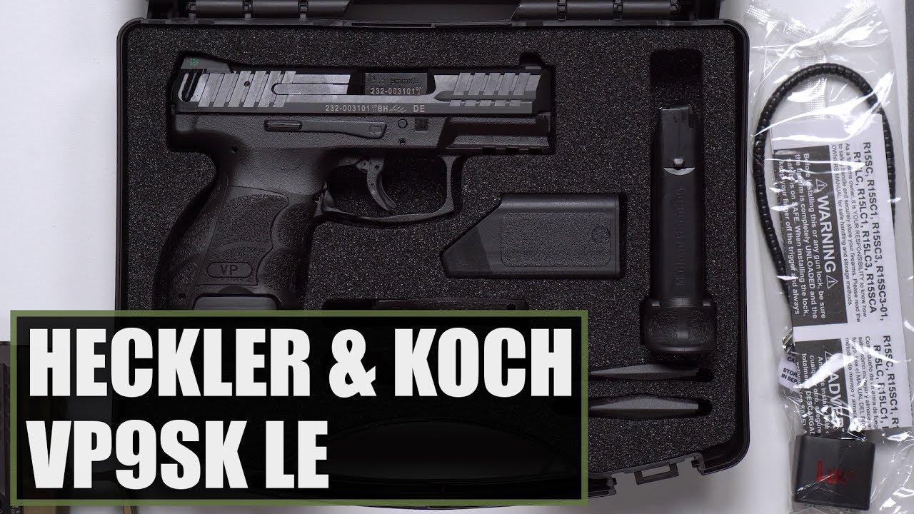 Unboxing The Heckler and Koch (HK) VP9SK LE