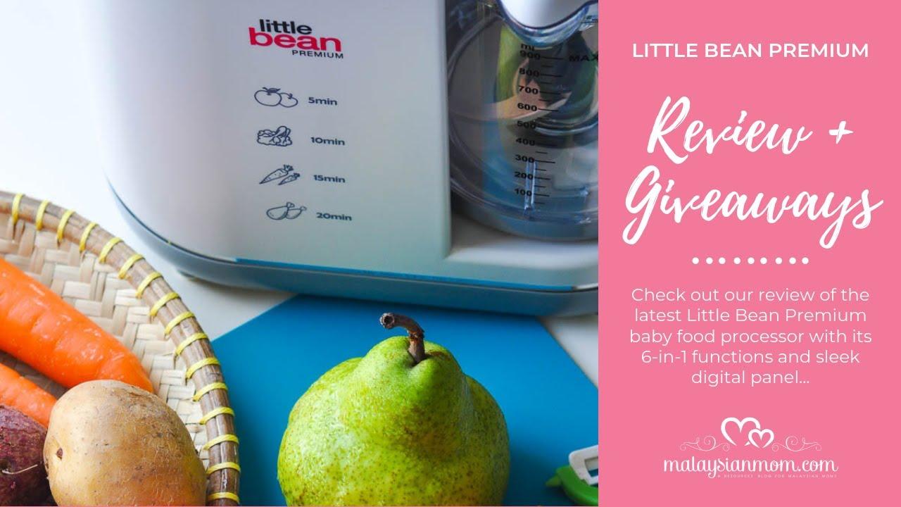 Little Bean Premium Food Processor Review Giveaways