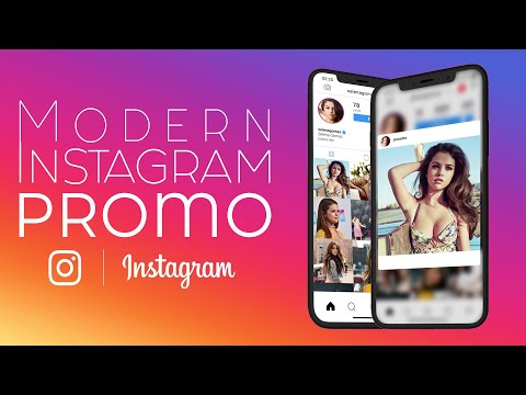 Modern Instagram Promo - Free Download After Effects Templates + Tutorial