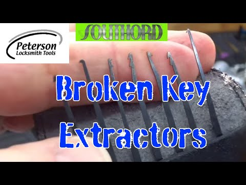 (781) Review: Southord and Peterson Broken Key Extractor Kits