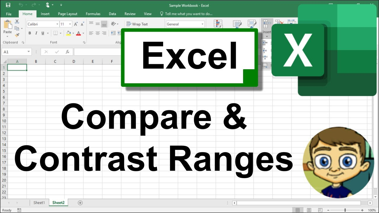 Compare and Contrast Excel Ranges