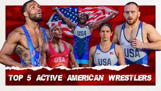 Top 5 Active American Wrestlers - United World Wrestling
