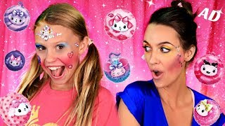 Funny Not My Arms Makeup with Pikmi Pops Cheeki Puffs and Crafty Girls!