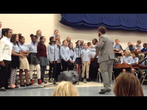 Gabriella 6th grade choir  I Want You Back ABC