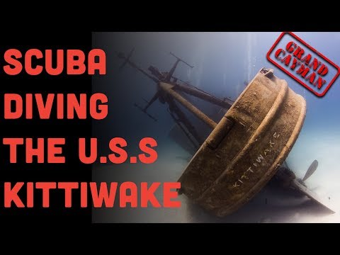 Scuba Diving The Kittiwake In Grand Cayman 2019