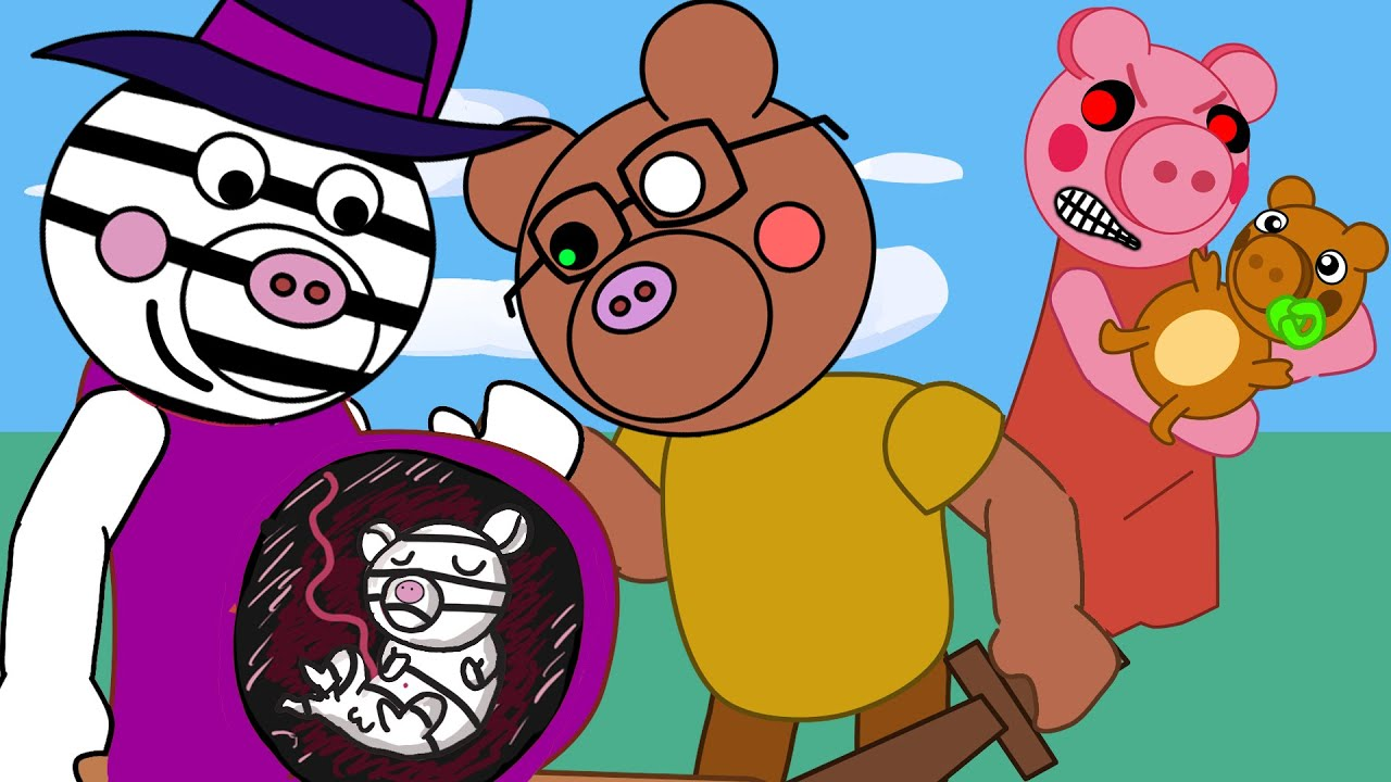 Peppa, George, Piggy, Official Channel 13