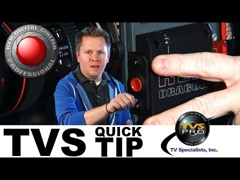 TVS Pro Quick Tip: Ejecting Media from a RED Digital Cinema Camera
