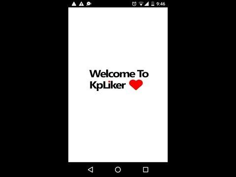 || Kp Liker App  ||  Fb Auto Liker || 100 % Working ||