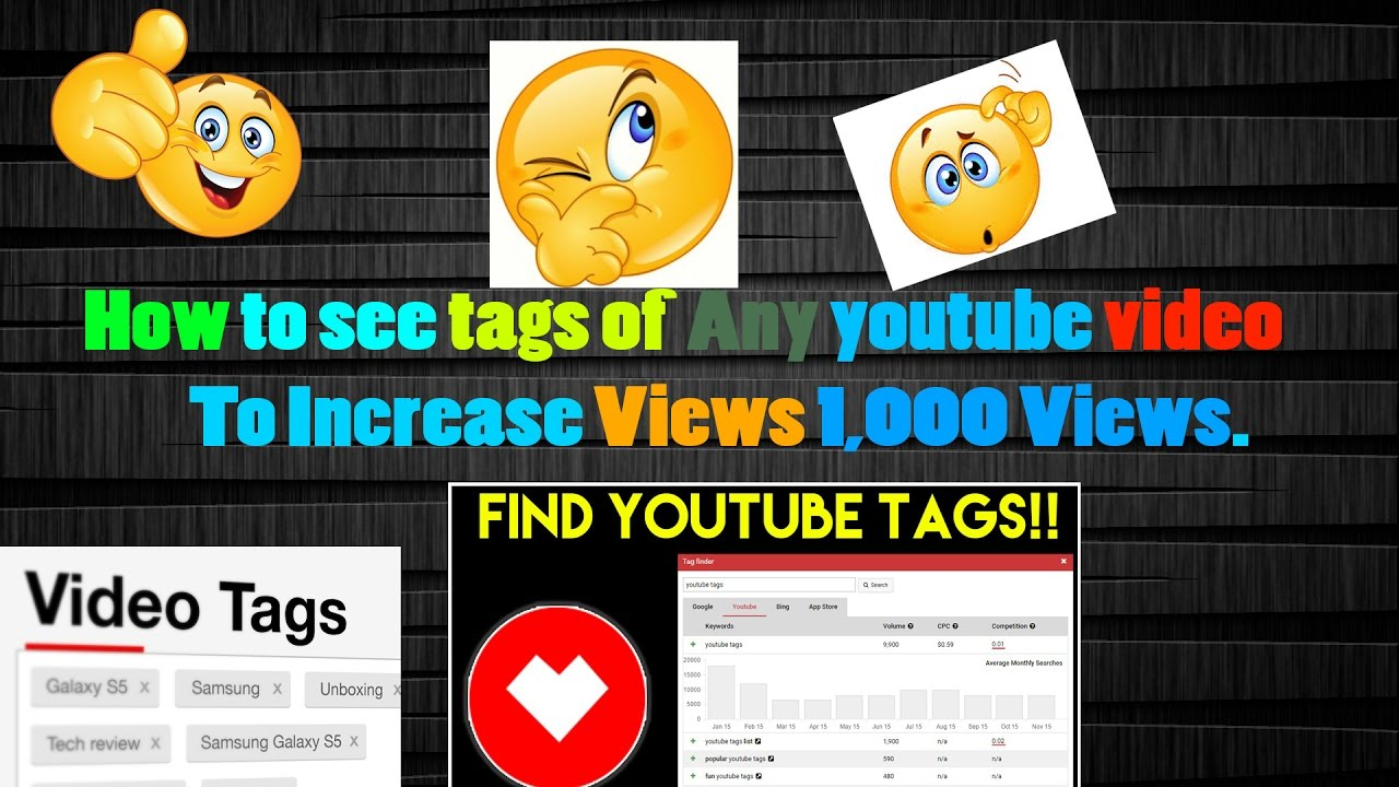 How To Give Tags To Youtube Videos To Increase Views And How To See Tags Of  Other Youtube Videos