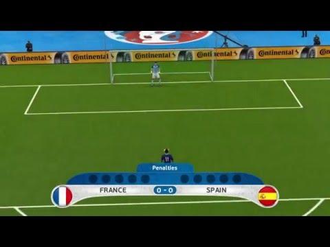 UEFA EURO 2016 Penalty Shootout: France vs Spain
