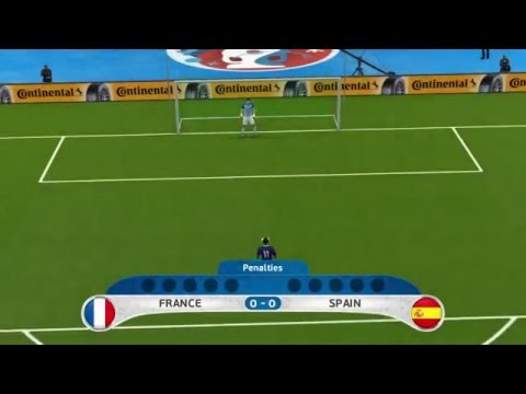 UEFA EURO 2016 Penalty Shootout: France vs Spain