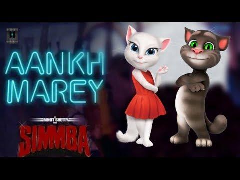 Neha Kakkar | Kumar Sanu | Ranveer Singh Song - Aankh Marey {SIMMBA} Choreography By Tom & Angela