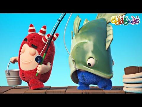 Oddbods   Fishy Business   Funny Cartoons For Children