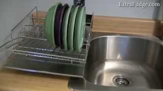 Zojila 'rohan' Dish Rack Drainer Utensil Holder And Drain Board Review
