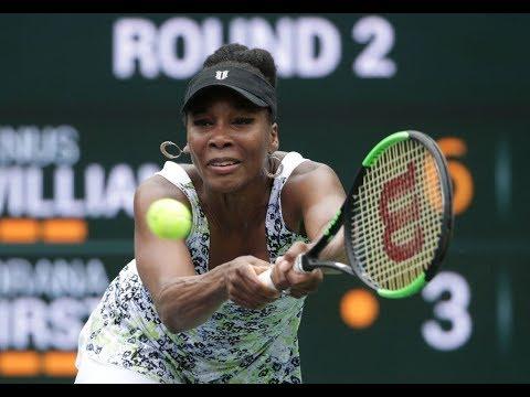 2018 Indian Wells Second Round | Venus Williams vs Sorana Cîrstea | WTA Highlights