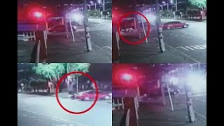 Cámara registró escape de sicarios que dispararon a familia venezolana en Bogotá