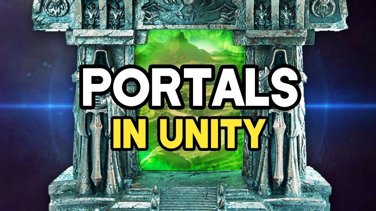 Smooth PORTALS in Unity