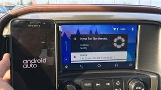 Android Auto in the New 2017 Chevrolet Silverado High Country