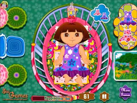 Dora Diaper Change - New Baby Dora Game