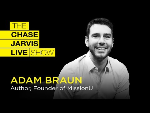 The Unfiltered Truth About Entrepreneurship with Adam Braun | Chase Jarvis LIVE