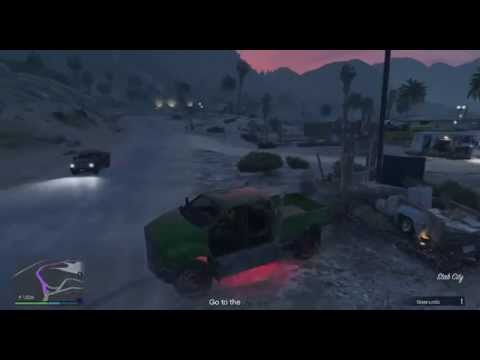 Grand Theft Auto V  online drone mission