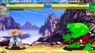 Marvel Vs. Capcom: Clash of Super Heroes (Euro 980123) - Hulk Theme - User video