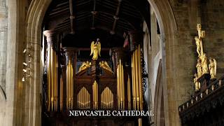 Cathedrals and chapels - slide show.  Music: 'Fanfares' - improvisation by John Riley.