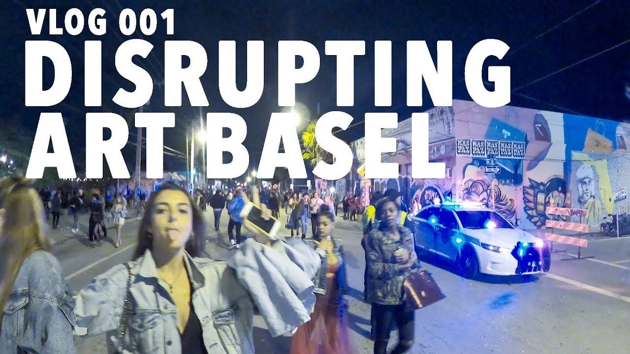DISRUPTING ART BASEL! VLOG 001 - Patrick Wieland 2017-12-10 16:08