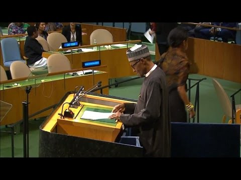 President Buhari seeks help from the UN to negotiate the release of the Chibok girls