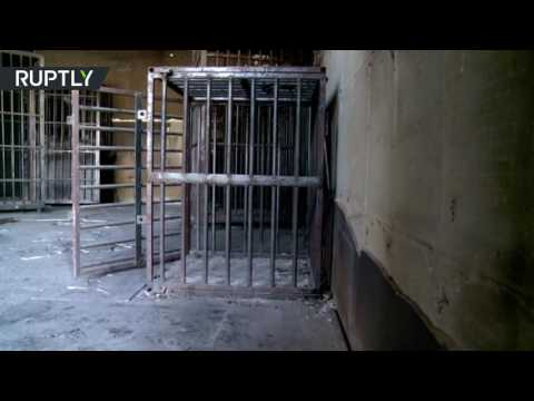 Iraqi soldiers discover ISIS courtroom with human cages in Fallujah