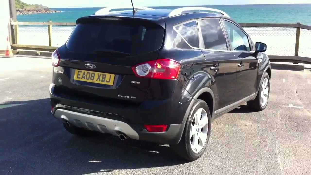 ford kuga titanium x 2 0 tdci 4x4 youtube. Black Bedroom Furniture Sets. Home Design Ideas