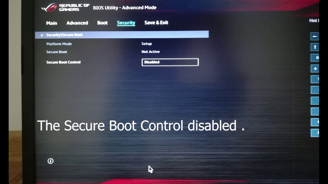 Setting up BIOS and Installing Windows on Asus Rog GL703GM - EE063 2018
