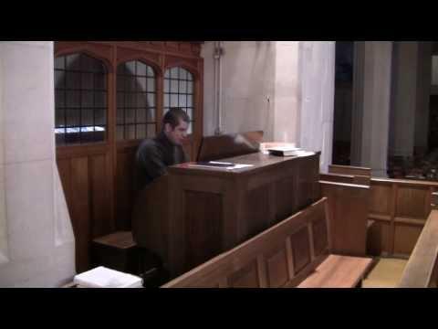 Saviour, again to thy dear name we raise (Ellers) - All Saint's Church, Penarth