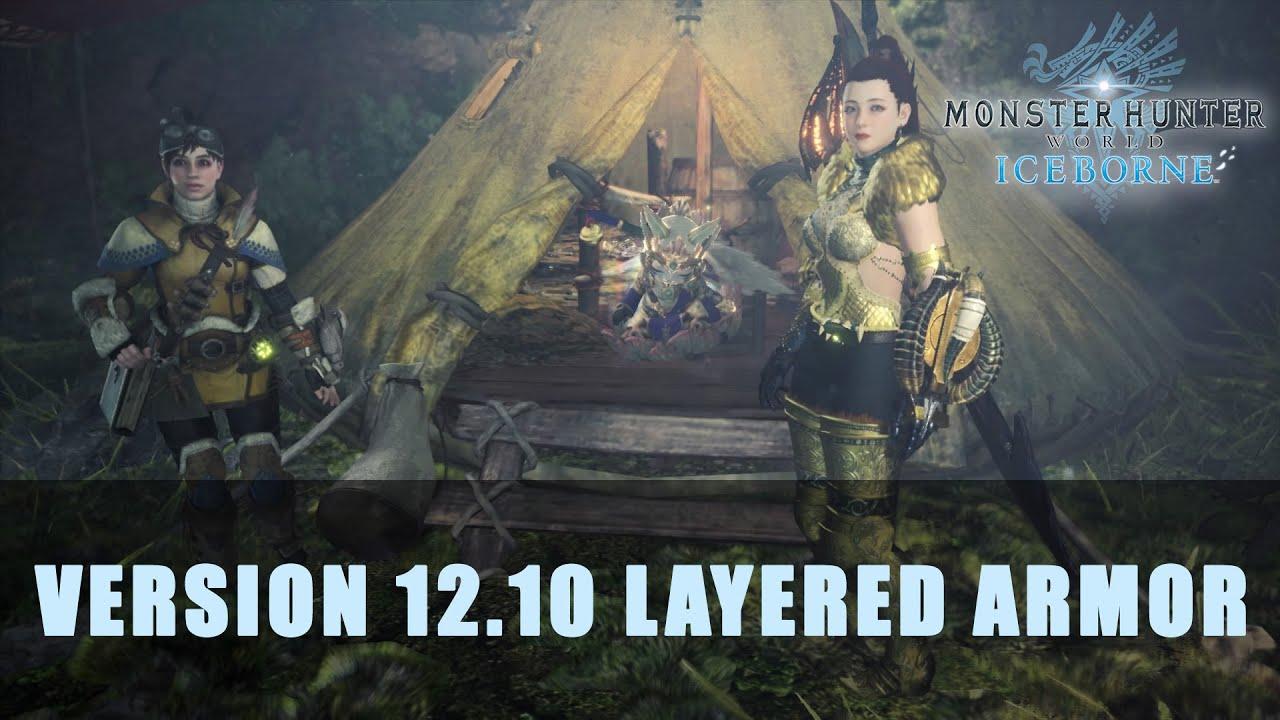 Mhw Iceborne Layered Armor In Version 12 10 Primeraespada91 Let S Play Index
