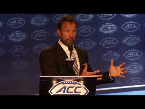 UNC Football:  ACC Media Day
