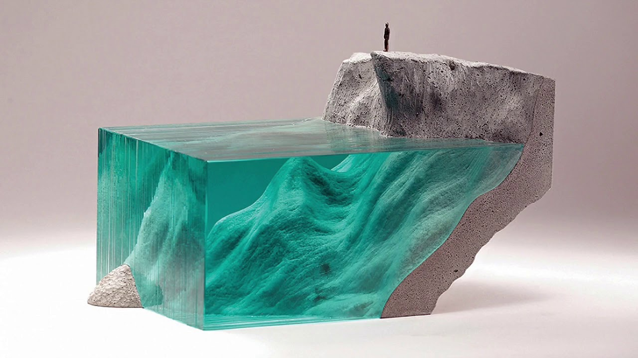 Ben Young Sculptures Stunning Glass Concrete Art By Ben Young