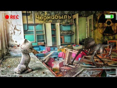 """Детский сад """"Золотой Ключик"""" в Припяти / Чернобыльская зона отчуждения"""