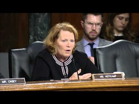 Heitkamp Discusses Agriculture Biotechnology at Senate Committee Hearing