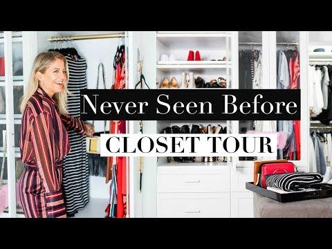 Never Seen Before CLOSET TOUR!