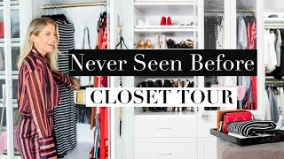 Never Seen Before CLOSET TOUR!
