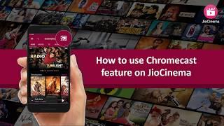 JioCinema Chromecast Support