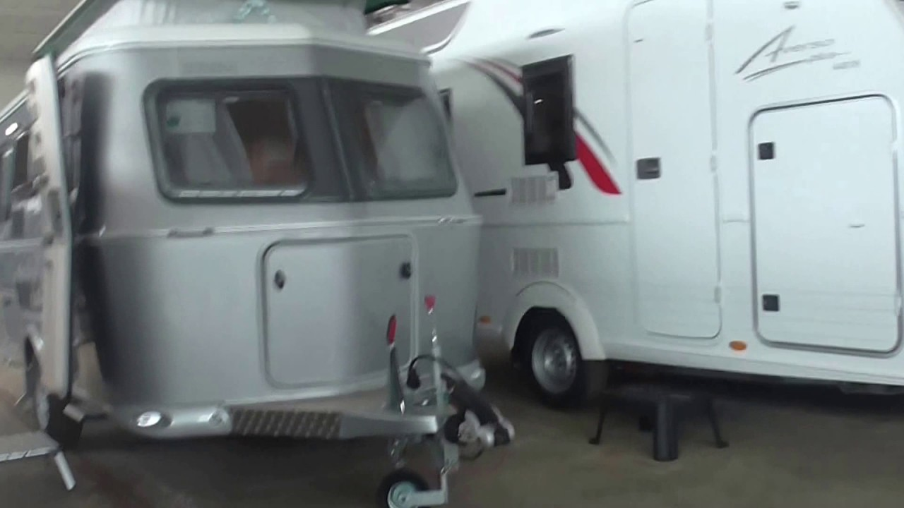 caravan eriba touring 430 gt silver edition youtube. Black Bedroom Furniture Sets. Home Design Ideas