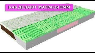 Как делают матрасы ЕММ (Екатеринославские мебельные мастерские). Обзор от магазина wowmarket.com.ua