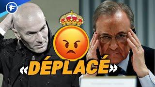 Le Real Madrid l'a très mauvaise contre Zinedine Zidane | Revue de presse