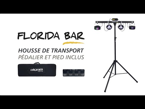 Pack Lumière FLORIDA-BAR Algam Lighting vidéo