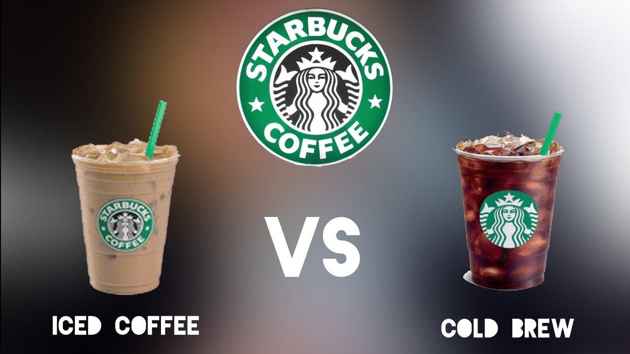 Starbuck S Ice Coffee Vs Cold Brew Coffee Squad Ep1
