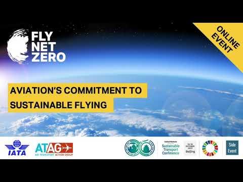 Webinar: Aviations Commitment to Sustainable Flying Webinar - October 2021