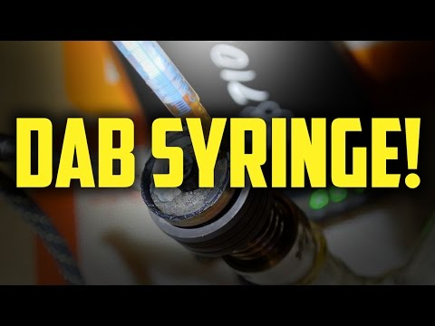 DAB SYRINGES ONTO ENAIL! (LowTemp!!!)