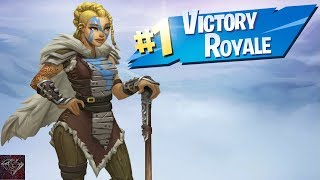 Getting A Victory Royale With The Huntress Skin (Fortnite Battle Royale)