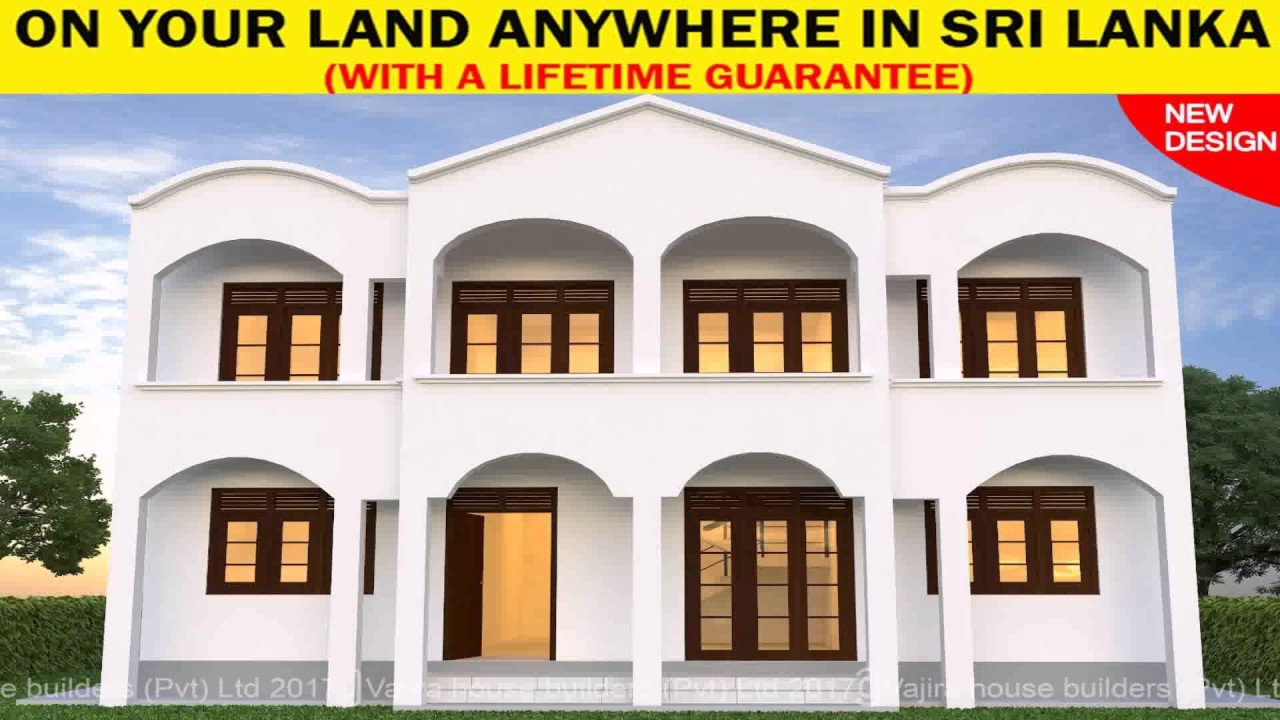 6 Perch House Design In Sri Lanka - YouTube